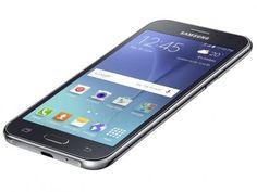 "Smartphone Samsung Galaxy J2 Duos 8GB Preto - Dual Chip 4G Câm. 5MP Tela 4.7""…"