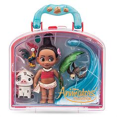 Disney Animators' Collection Moana Mini Doll Play Set - 5''