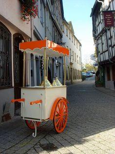 ice cream cart I charrette à glace I carretto gelati Eiswagen