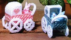 Mini baby carriages 1/2