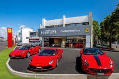 Ferrari Supercars Gather In New Zealand To Celebrate New Showroom