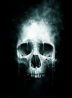 Skull Spatter by Paul Han