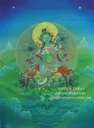 Buddha Painting in the Sanatan Society Indian Art galleries Thangka Painting, Buddha Painting, Indian Art Gallery, Sacred Feminine, Divine Feminine, Green Tara, Star Show, Gods And Goddesses, Deities