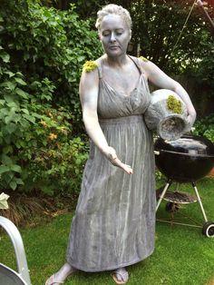 Stone statue costume