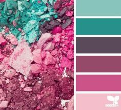 Love these colors together!