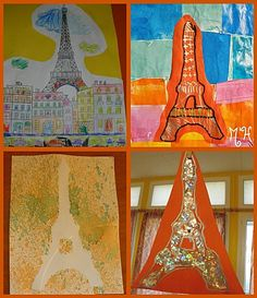 Travel Europe – The Home of Culture – Europe – Visit it and you will love it! Tour Eiffel, French Days, Ecole Art, Europe, Art Plastique, Day Tours, Continents, Art School, Crafts For Kids