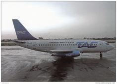TRANS AIR CARGO, TAC, Boeing 737-247, Unused Postcard [15895] - 1946-....: Ere Moderne