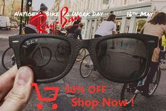 National Bike to Work Day // May 16 // Leather Wayfarer Sunglasses, Checkbook Register, Braces Tips, Crop Haircut, Fireman Party, First Birthday Party Themes, College Room, Makeup Store