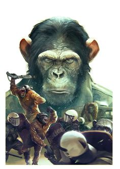 """Planet of the Apes"" (American Science Fiction Film) Primates, Planet Of The Apes, Poster S, Sci Fi Movies, Geek Art, Cultura Pop, Sculpture, Sci Fi Art, Movies Showing"