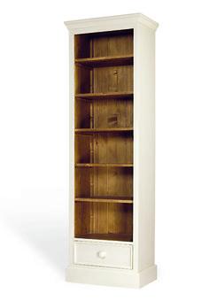 Boekenkast met lade afmeting H 200 cm x B 65 cm x D 41 cm - Inndoors Meubelen en Interieur
