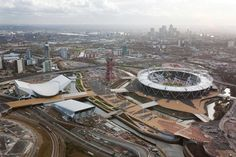 Olympic Park. Parklands and public realm