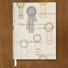 Horse Show Ribbons Designer Hardbound Journal - The Painting Pony