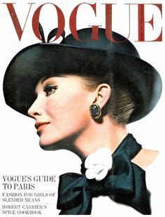 Vogue Cover 1 March 1964_Photo Helmut Newton