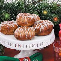 Glazed Poppy Seed Doughnuts
