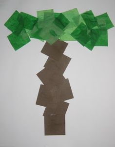 """""""T"""" Craft--T is for Tree Counting Coconuts: Tot School - The Letter T Letter T Activities, Preschool Letter Crafts, Alphabet Letter Crafts, Abc Crafts, Preschool Projects, Classroom Crafts, Preschool Crafts, Letter Art, Alphabet Books"""