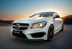 2014 Mercedes CLA 45 AMG.