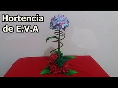 Flor de E.V.A APIADINHO - YouTube