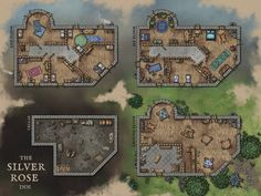 Fantasy Map, Fantasy World, Pen And Paper Games, Building Map, Map Pictures, Dungeon Maps, Tabletop Rpg, City Maps, Dnd Characters