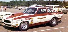Vintage Drag Racing - Pro Stock - Chevy Vega - Freeman