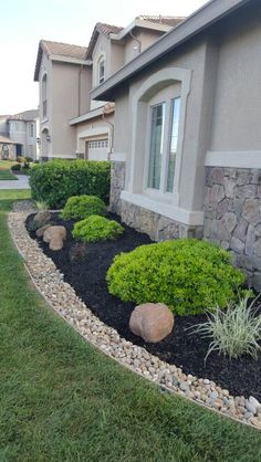 Landscaping Ideas Borders First House Pinterest Paisajismo