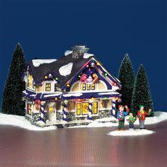 Christmas Village Collections, Christmas Village Houses, Christmas Village Display, Christmas Villages, Christmas Decorations, Christmas Wishes, Christmas And New Year, Christmas Holidays, Christmas Things
