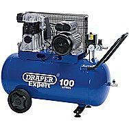 Draper 03238 Expert 100l Belt-driven Air Compressor 2.2kw