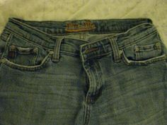 womens miss me gabrielle jeans 29x30 distressed #MissMe #BootCut