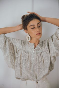 PEASANT BLOUSE /edwardian blouse/edwardian/victorian   Etsy