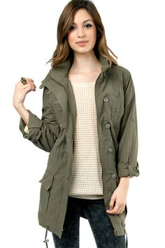 Parka Rain Coat - Coat Nj