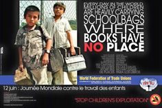 12 June was World Day Against Child Labour… the USA DIDN'T Participate