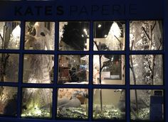 New holiday beauty up at our store window display on 435 Broome Street. Come by and see it!