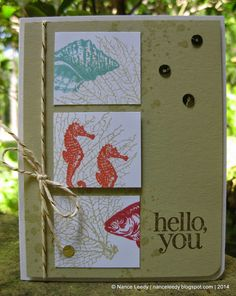 Canopy Crafts: Three By the Tide {PP190}