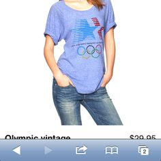Gap vintage Olympic tee. I need this!