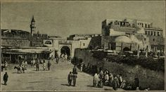 Tripoli in 1901, Photo was taken by french traveler H. De Mathuiseulx