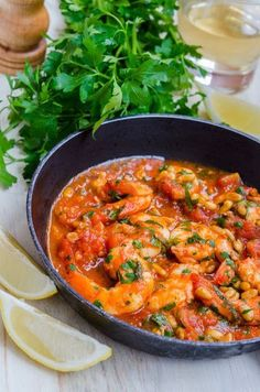 Creveti in sos de rosii cu seminte de pin Food Design, Fish And Seafood, Shrimp, Healthy Lifestyle, Curry, Good Food, Food And Drink, Dinner, Ethnic Recipes