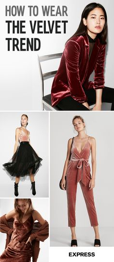Put the smooth moves on your fall wardrobe with decadent velvet. Your next party look should definitely be our Plunging V neck Velvet bodysuit paired with our tulle skirt. Or night out wow achieved in our retro inspired Velvet Jumpsuit. If party look are