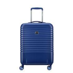 Delsey Caumartin 4 Wiel Cabin Trolley Slim 55 navy blue