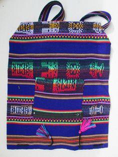 1 kleiner Rucksack aus Peru  leicht Hippie Goa  Nr.2