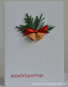 quilled Christmas Bells