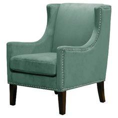 Threshold™ Jackson Wingback Chair - Teal