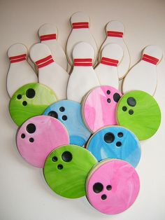 Cookies for a Bowling Party