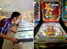 Play on vintage pinball machines from the 1950's.   17 Things You Didn't Know You Could Do In Las Vegas