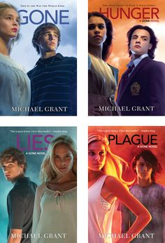 Gone Series by Michael Grant. I need to reread the third one and read the last one! I Love Books, Great Books, Books To Read, Up Book, Book Nerd, Gone Michael Grant, Michael Landon, Gone Series, Roman