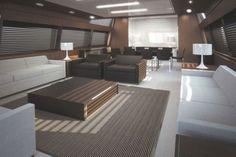 Mythos Yacht Interior Design by Riva Shipyard