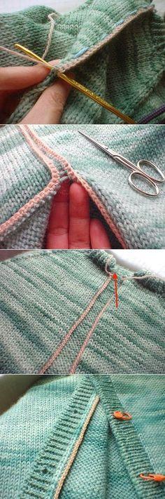 Необычный и простой шарф-снуд
