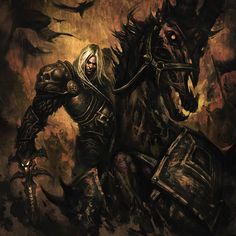 World of Warcraft: Wrath of the Lich King - Arthas Menethil & Mount