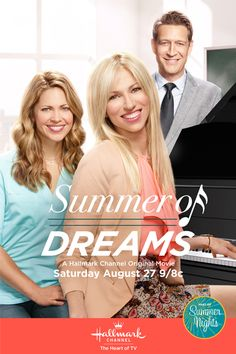 "Its a Wonderful Movie - Your Guide to Family Movies on TV: ""Summer of Dreams"", a Hallmark Channel Original ""Summer Nights"" Movie starring Debbie Gibson"