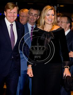 King Willem-Alexander and Queen Maxima at 110th anniversary of Residentie Orchestra