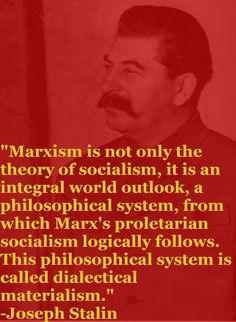 Stalin sul marxismo