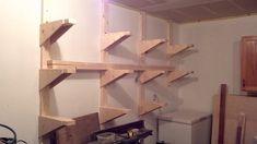 Lumber Rack - by jonww @ LumberJocks.com ~ woodworking community